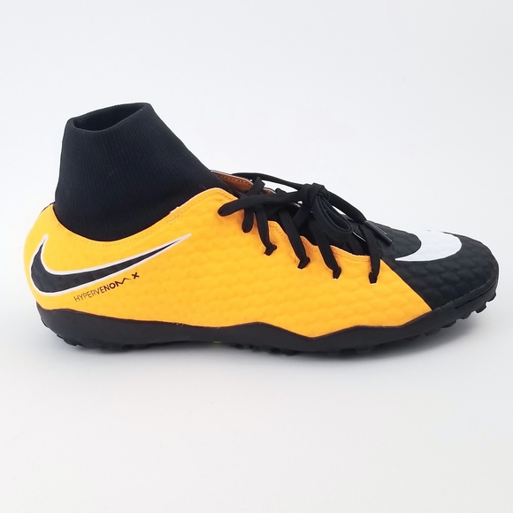 reputable site 7a731 793f5 NIKE HyperVenom Phelon 3 Black indoor Soccer shoes